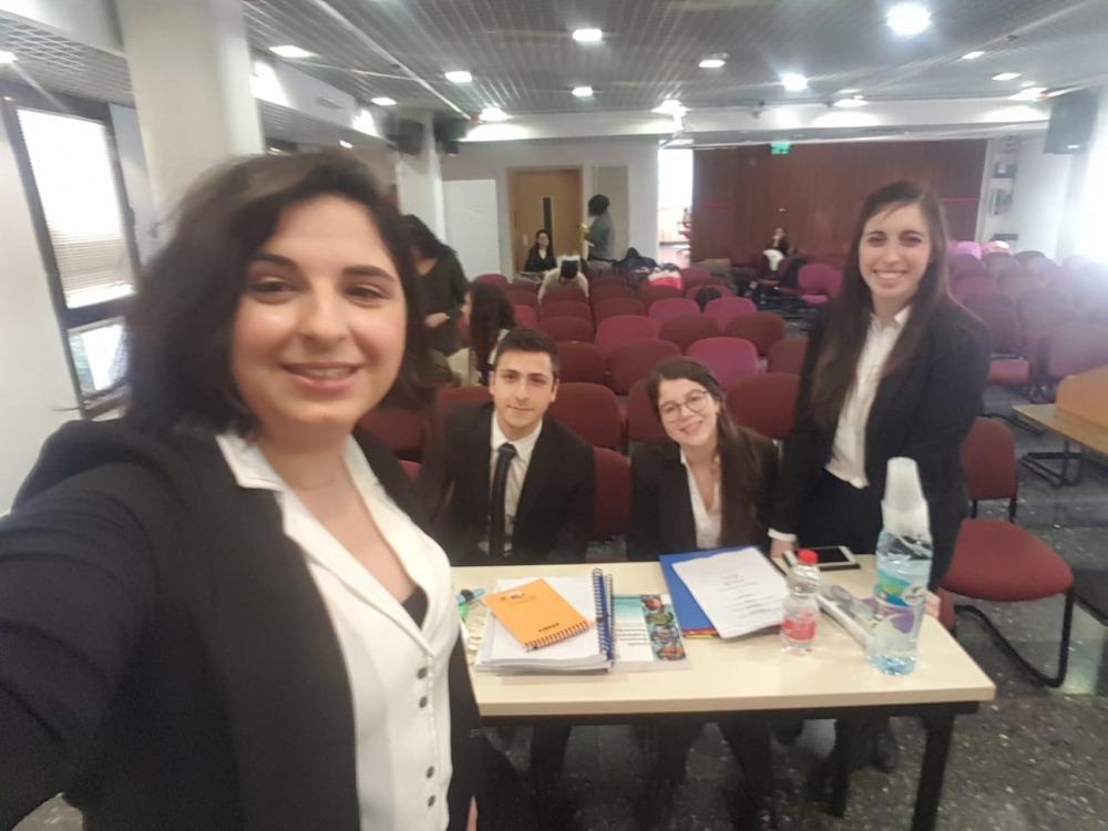 נבחרת הפקולטה ניצחה בסבב הארצי של תחרות המשפט הבינלאומי המבויים