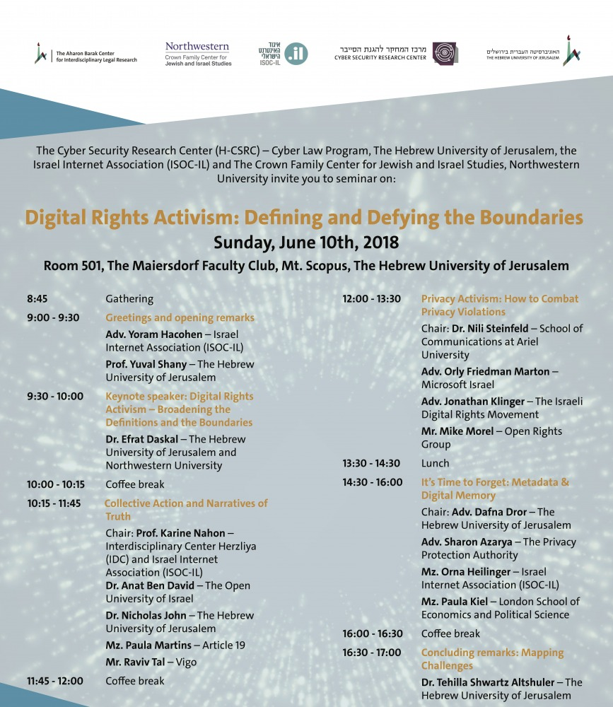 Digital Rights Activism: Defining and Defying the Boundaries
