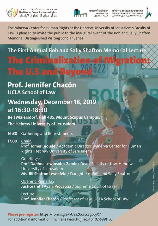 The Criminalization of Migration in the U.S. and Beyond