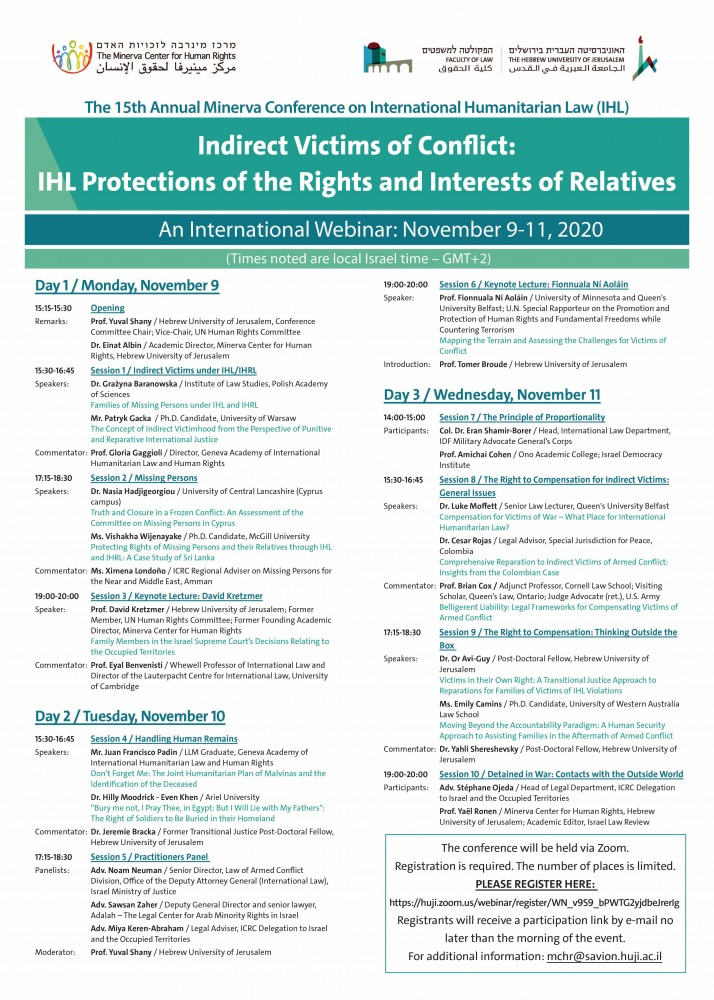 Indirect Victims of Conflict- IHL Protections of the Rights and Interests of Relatives