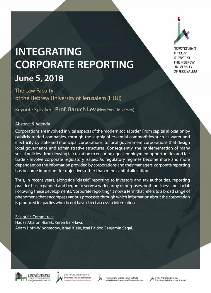 Integrating Corporate Reporting