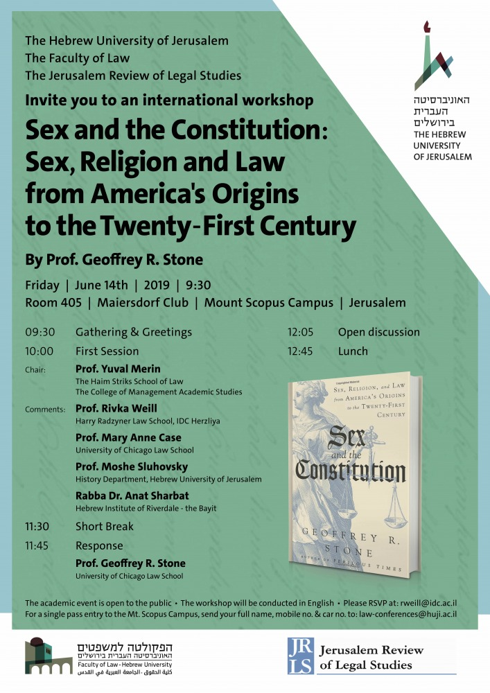 Sex and the Constitution- Sex, Religion and Law from America's Origins to the Twenty-First Century