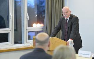 סימפוזיון בנוכחות שגריר גרמניה בישראל