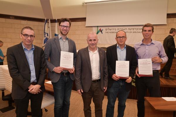 ברכות לפרופ' גדעון פרחומובסקי על זכייתו בפרס פולק לחוקר מצטיין