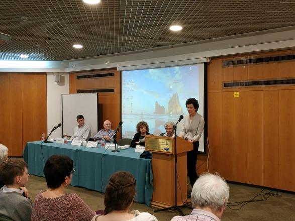 """מודים למשתתפים הרבים בכנס המיוחד שנערך לזכרו של פרופ' יהושע ויסמן ז""""ל"""