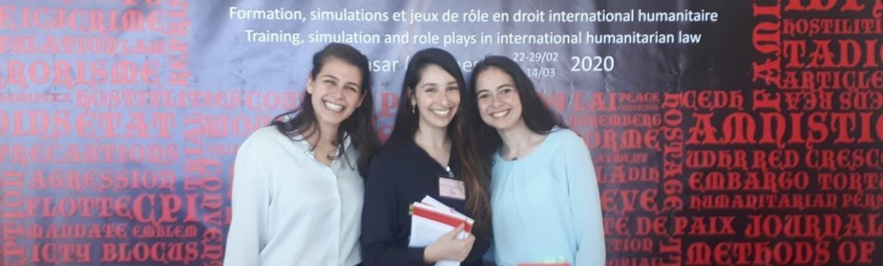 """תומכים בנבחרת הפקולטה בתחרות הבינלאומית ע""""ש ז'אן פיקטה!"""